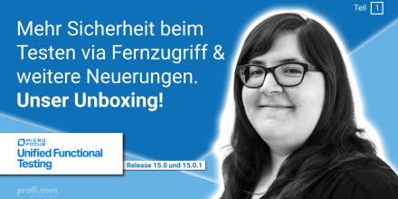 Bild Blogbeitrag: What's new in UFT 15.0 und UFT 15.0.1