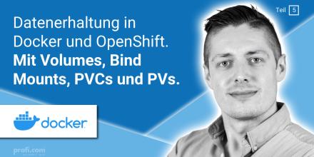 Bild Blogbeitrag: Storage in Docker & OpenShift