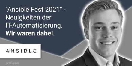 Bild Blogbeitrag: Ansible Fest 2021 – Unser Review