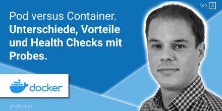 Bild Blogbeitrag: Pod versus Container